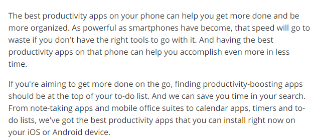 Best Productivity Apps intro