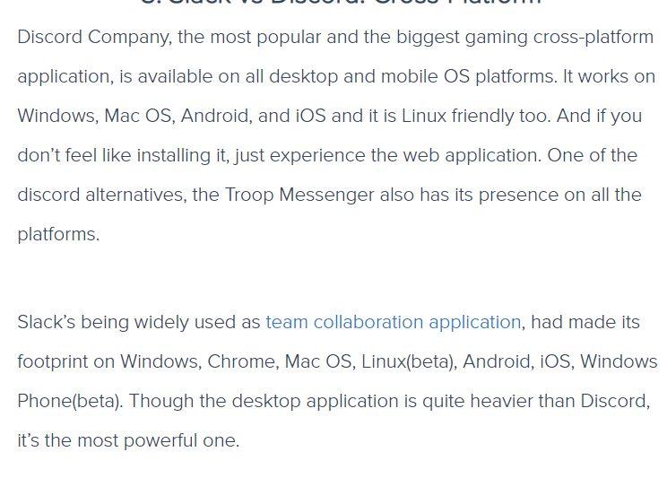 Slack vs Discord Cross-Platform