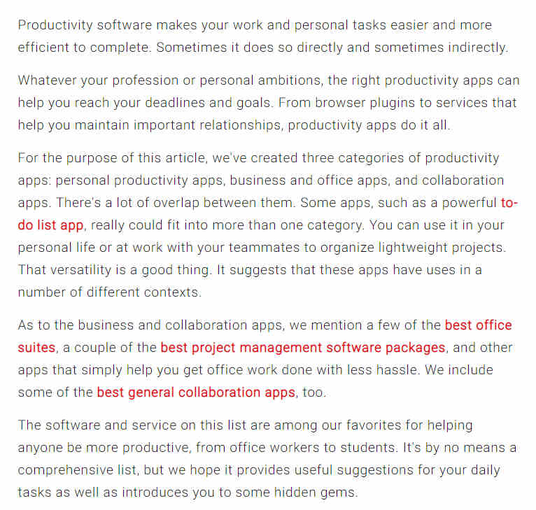 What Is Productivity Software