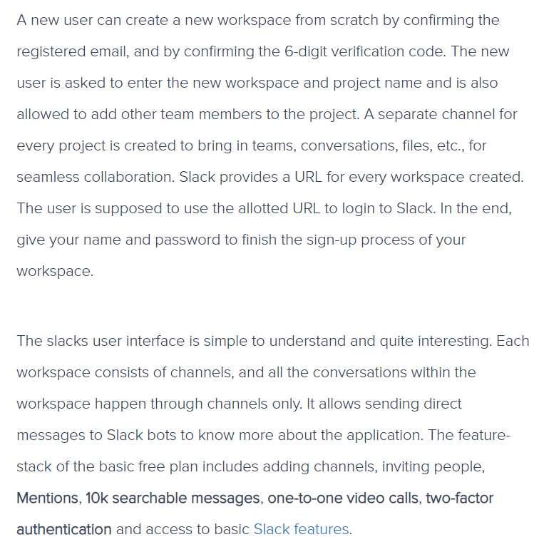 What is Slack Workspace