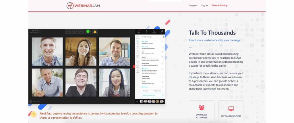 WebinarJam Software