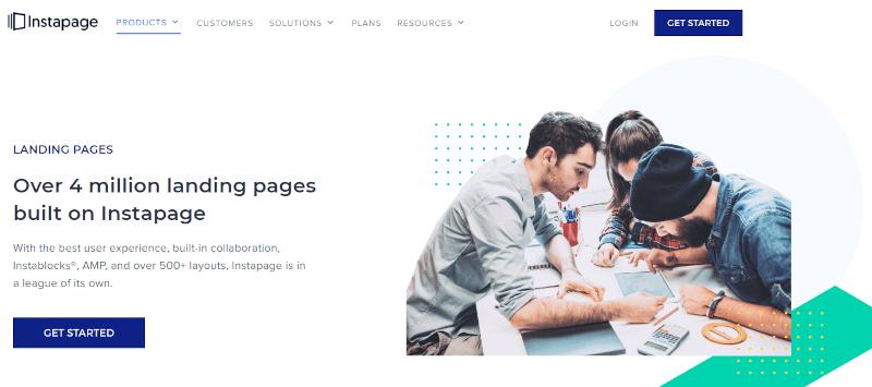 instapage landing page builder