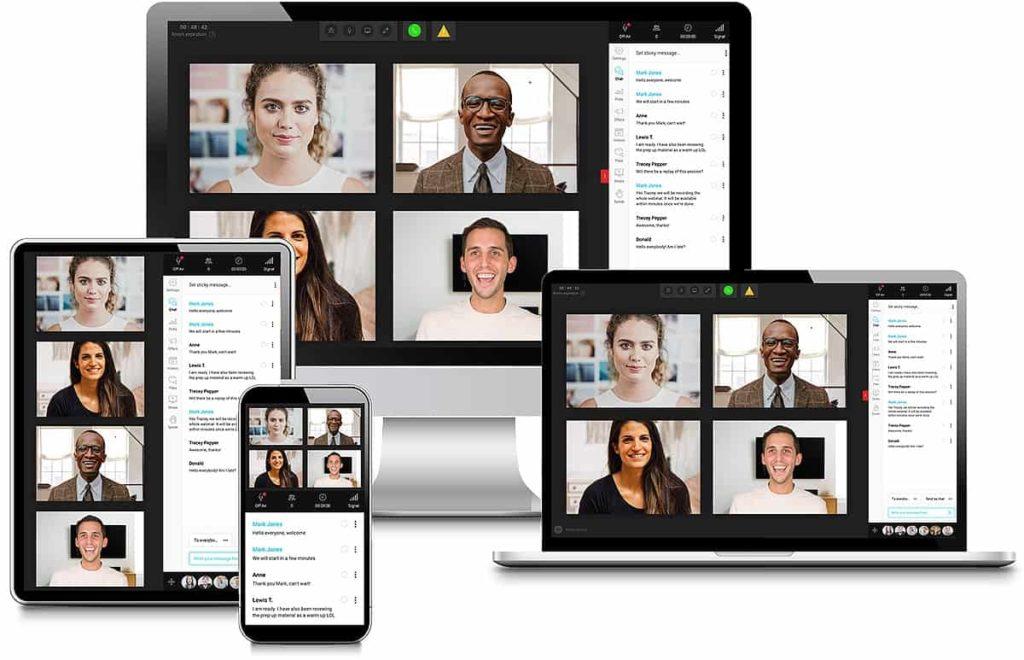 webinarjam on different devices