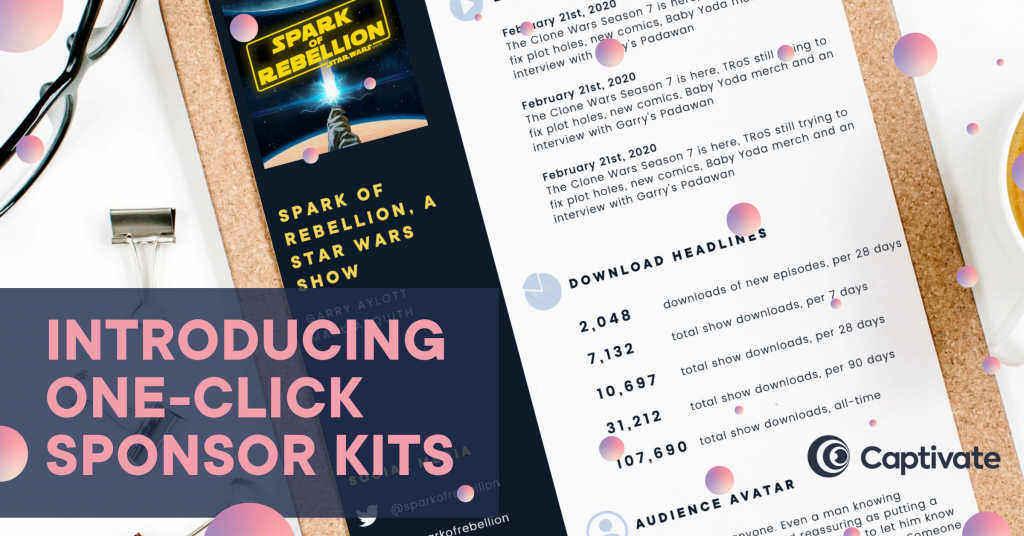 Captivate Podcast Sponsor Kit
