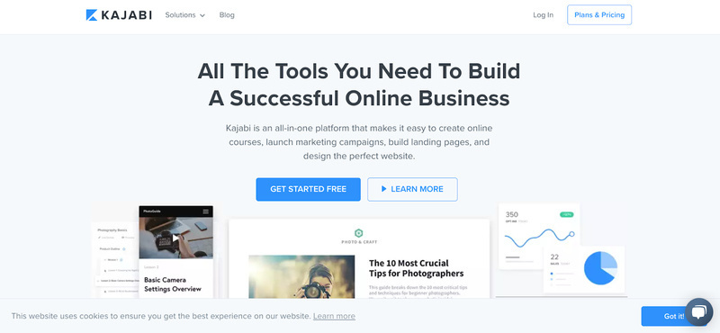 Kajabi Homepage