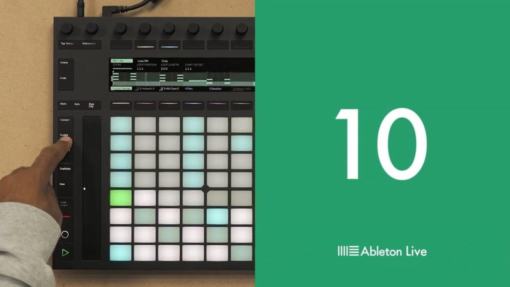 Ableton Live 10 new step