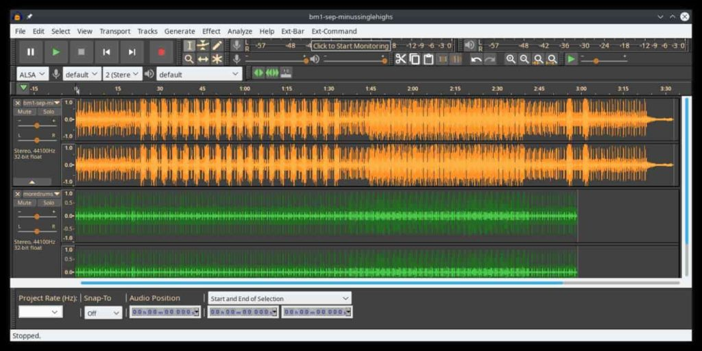 Audacity Features