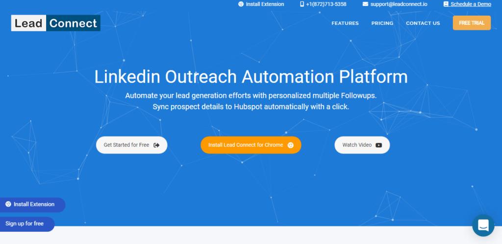 Linkedin Automation example