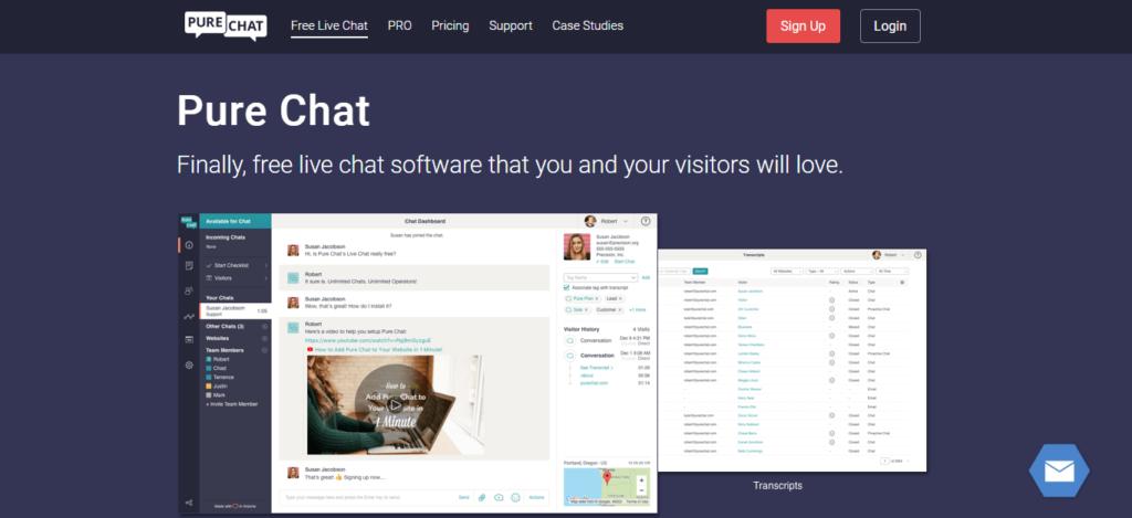 PureChat Features