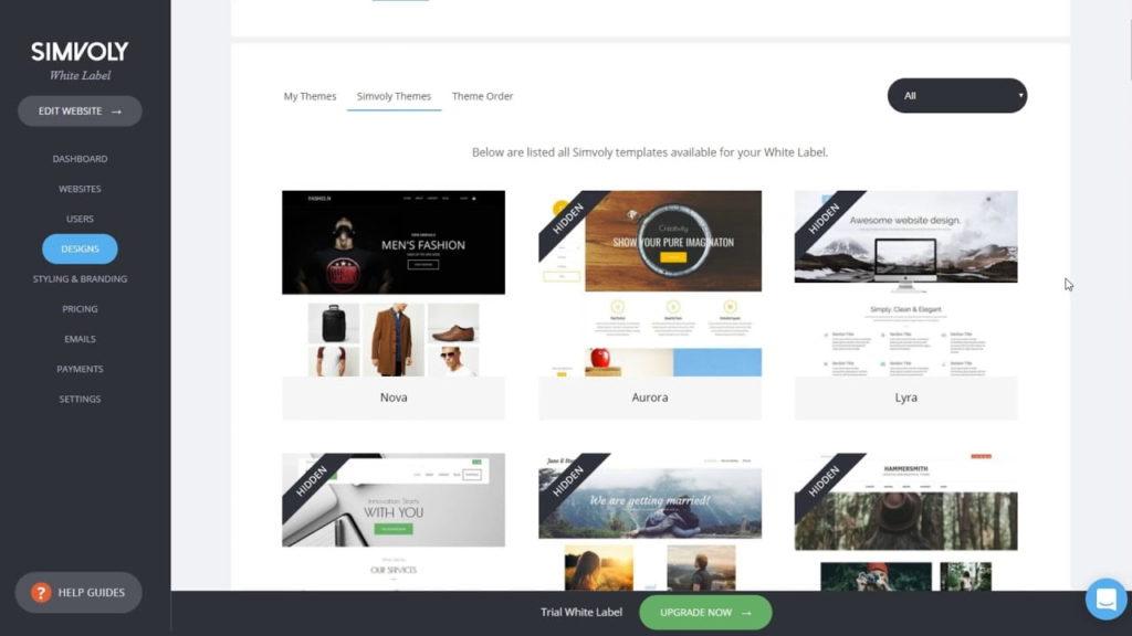 Simvoly website builder