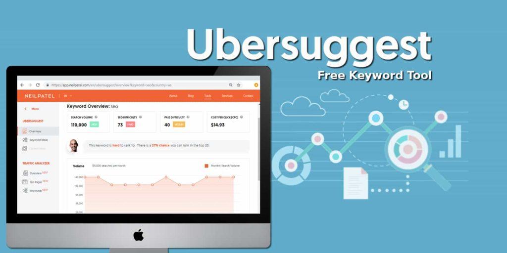 Ubersuggest-keyword tool