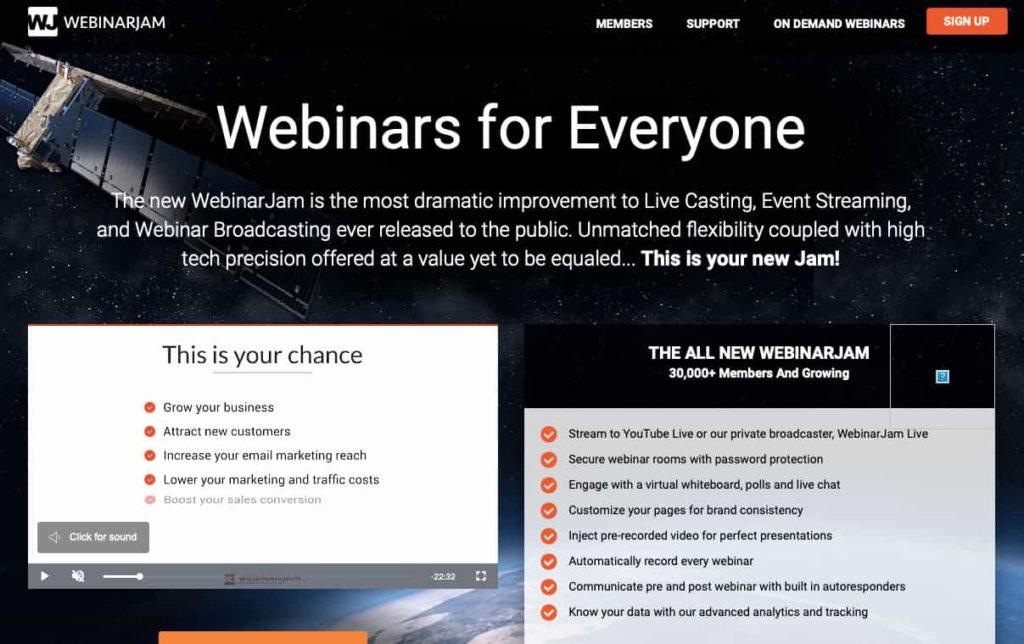 webinarjam marketing