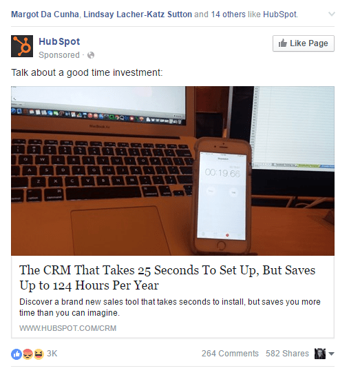 HubSpot-on-Facebook
