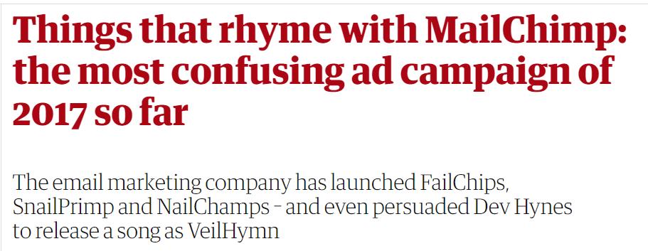 MailChimp Ad Campaign