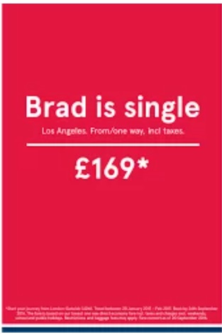 Norwegian Airline Ad